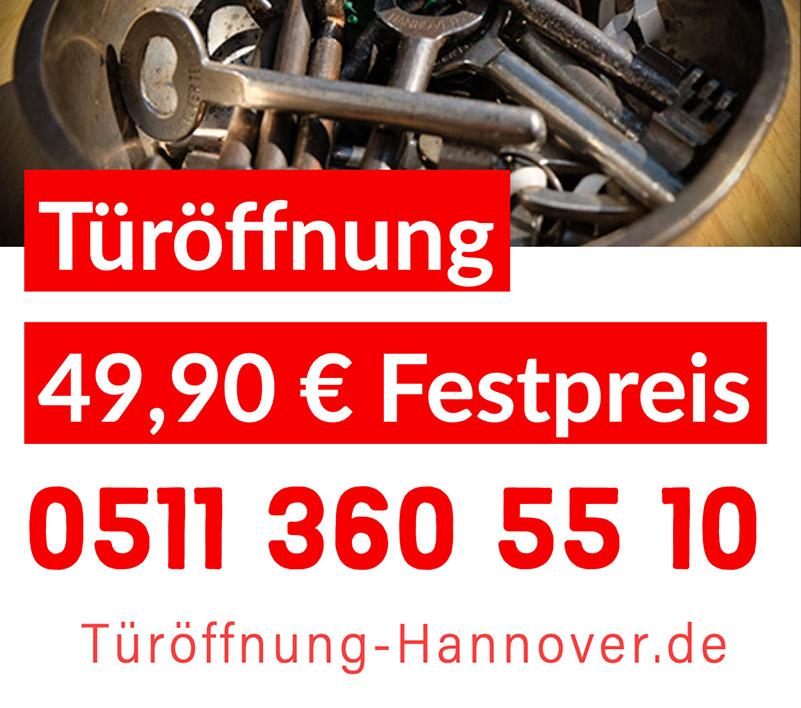 Schlüsseldienst Türöffnung Hannover Preise