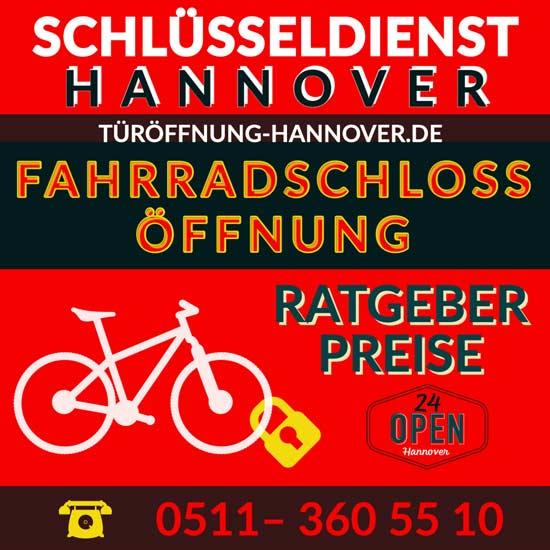 Fahrradschloss defekt Öffnung Hannover DIY Preise